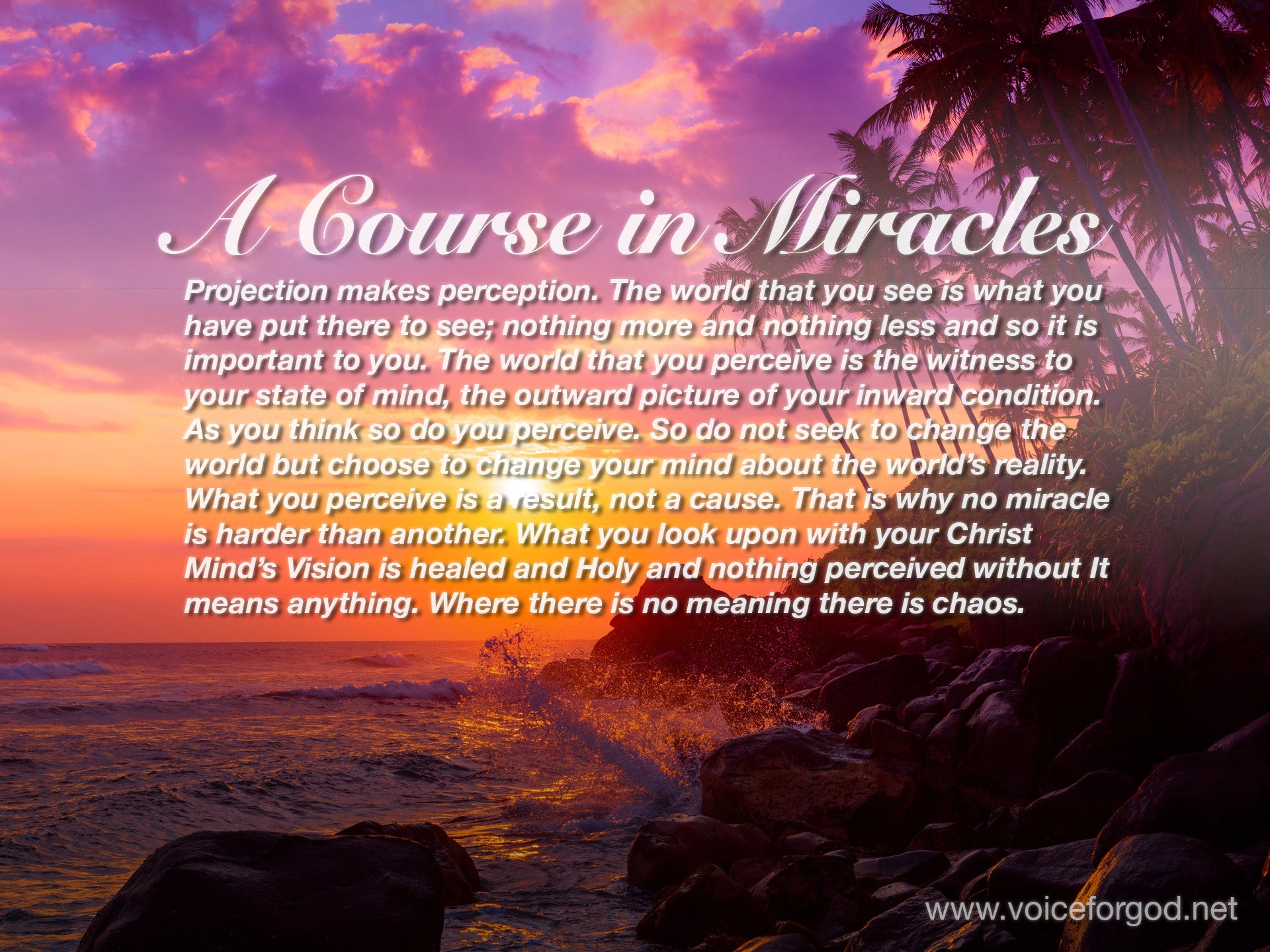 ACIM Quote 1063 A Course in Miracles Quotes