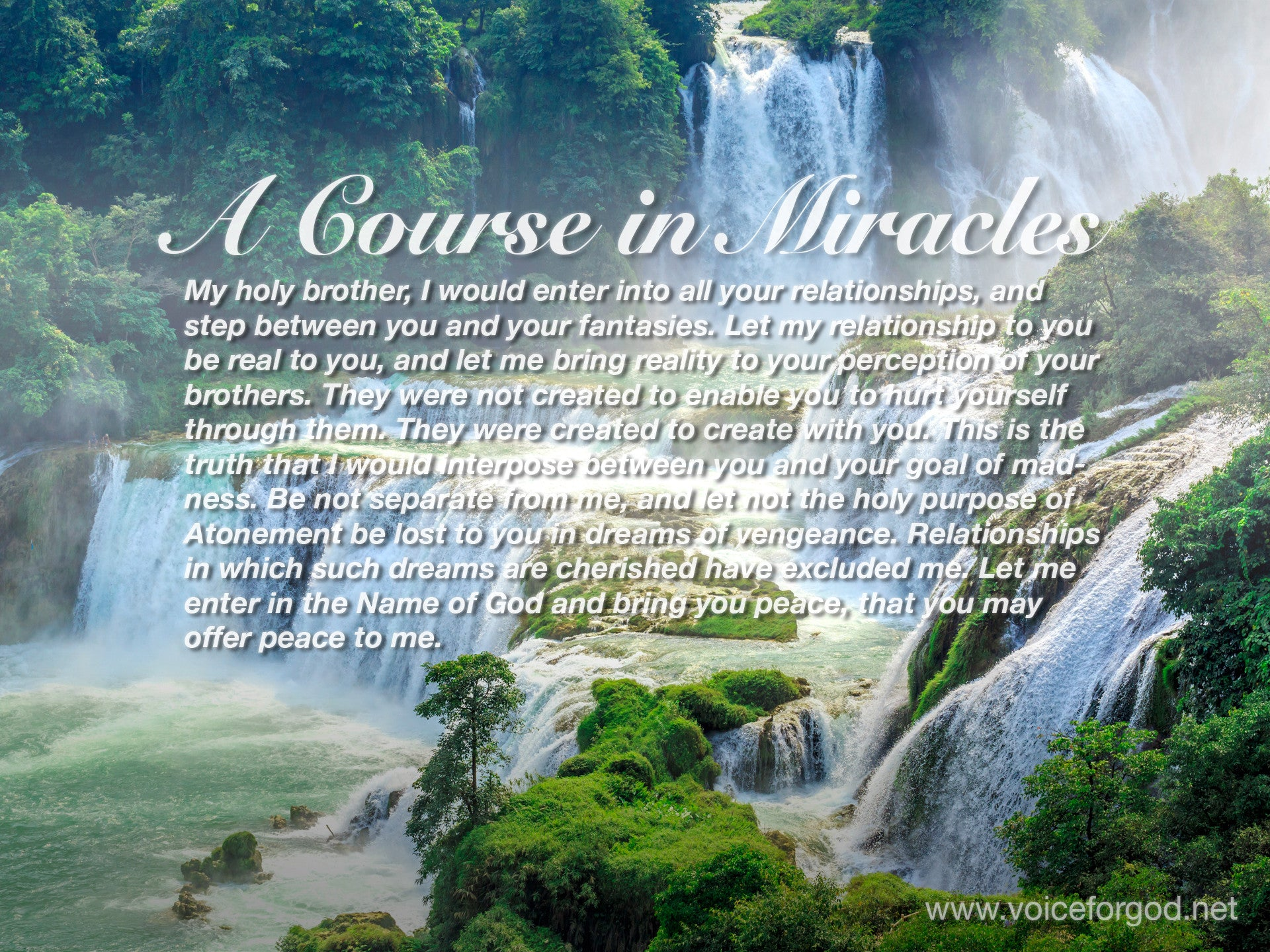 ACIM Quote 1064 A Course in Miracles Quotes