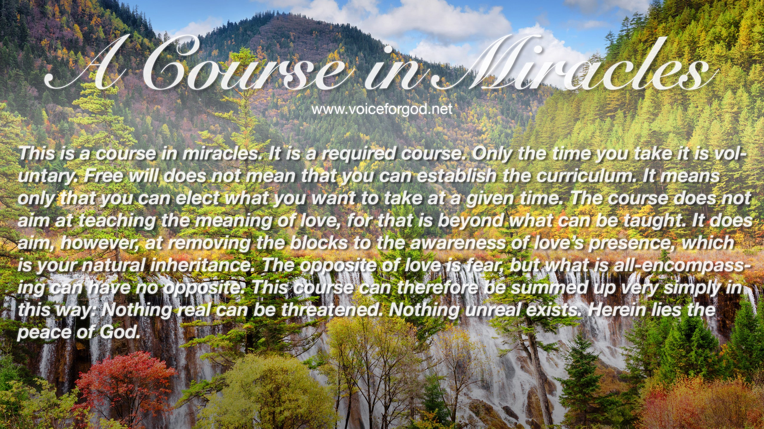 ACIM Quote 1066 A Course in Miracles Quotes