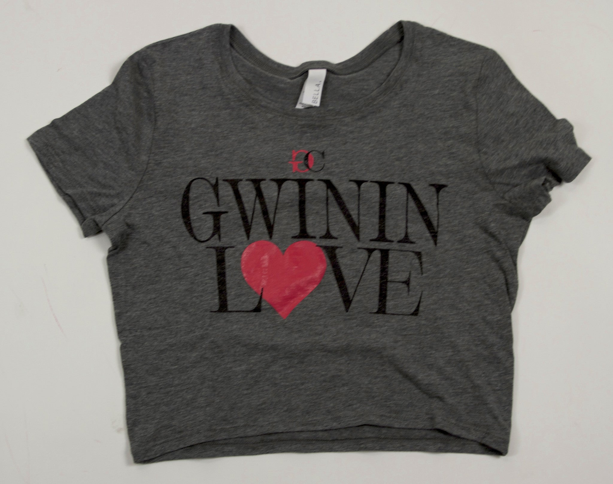 Gwinin Love Grey Crop Top