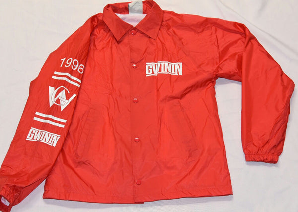 Red Gwinin Windbreakers
