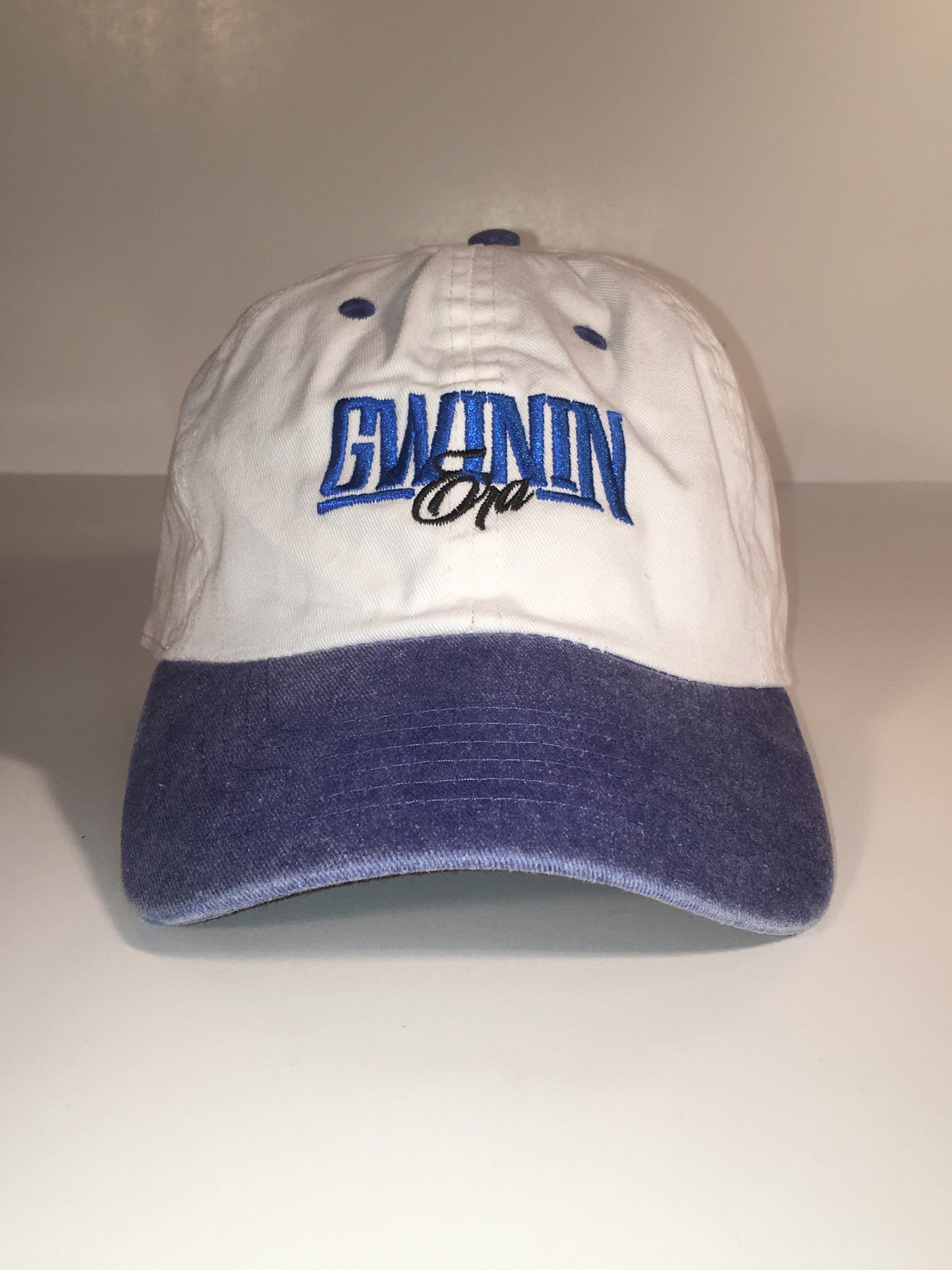 Blue/White Gwinin Era Signiture Cap