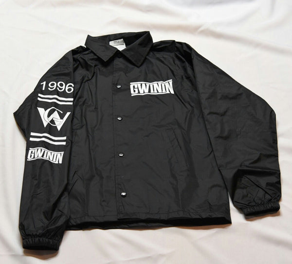 Black Gwinin Windbreaker