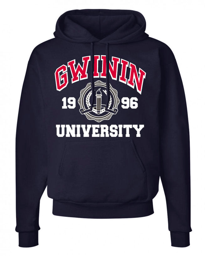 Gwinin University Navy Sweatshirt