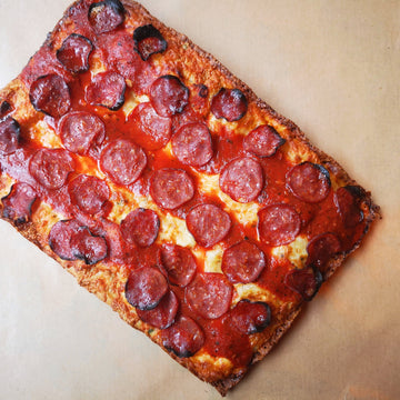 "Beauty Eats® ""The Parking Lot Pepperoni"" Pizza"