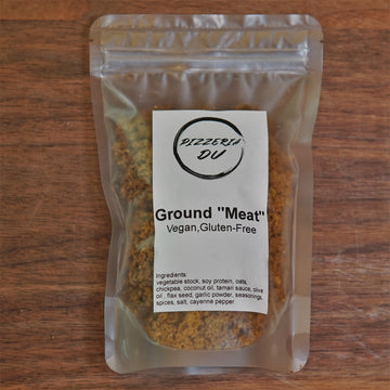 "Pizzeria Du®Vegan Ground ""Meat"" - 6 Packs"