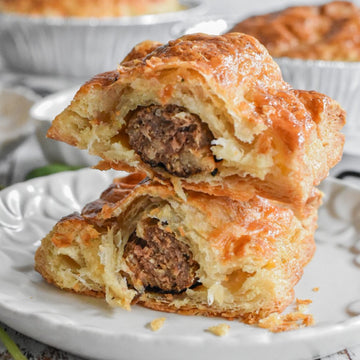 Parviz Bakery®Beef Sausage Roll - 8 Packs