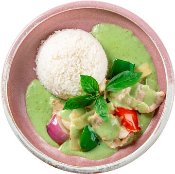 Spoon & Fork® Green Curry Chicken - 4 portions