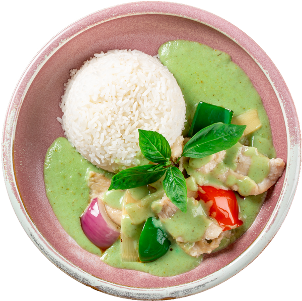 Spoon & Fork® Green Curry Chicken