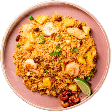 Spoon & Fork® Pineapple Shrimp & Chicken Fried Rice - 4 portions