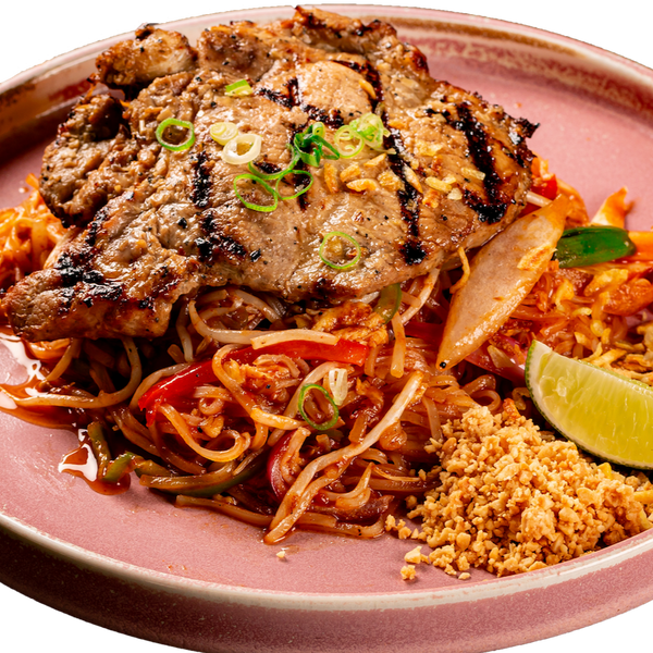 Spoon & Fork® Lemongrass Pork Chop Pad Thai - 4 portions