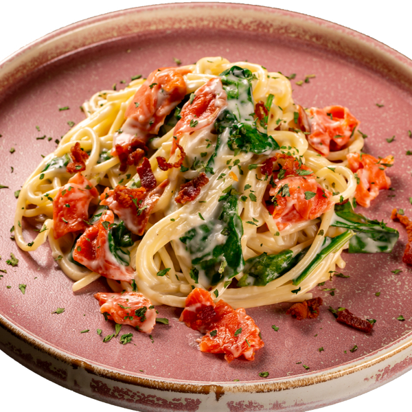 Spoon & Fork® Smoke Salmon Crispy Bacon Spaghetti 540g