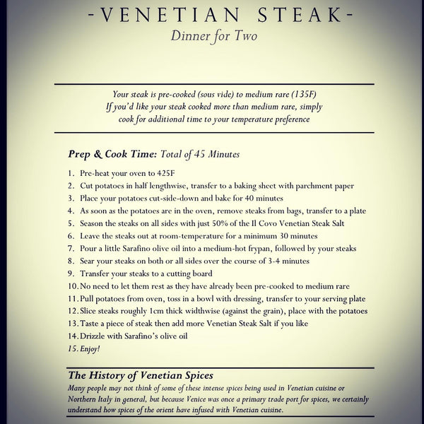Il Covo® Venetian Steak