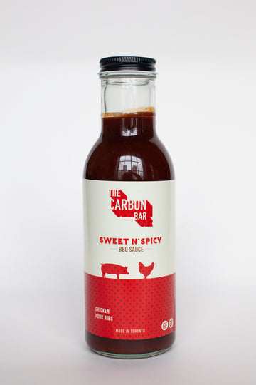 The Carbon Bar® Sweet and Spicy BBQ Sauce