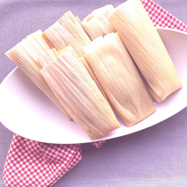 Santo Pecado® Tamales Kit (Chicken in Tomatillo Serrano Sauce)