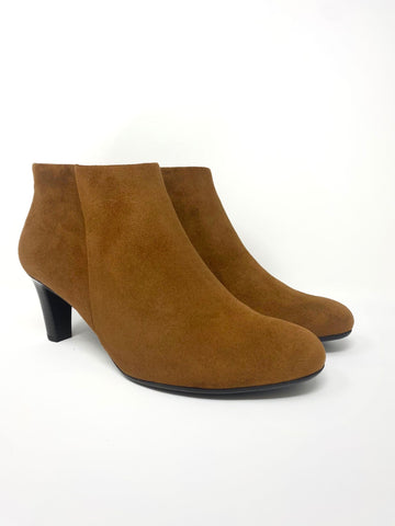 Brown Suede Ankle Boot