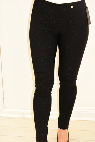 Robell Trousers With Black Studs