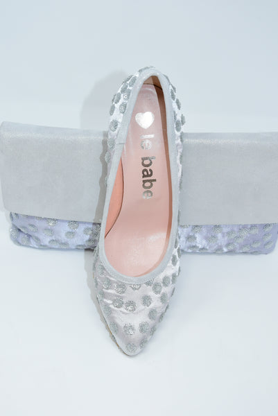 Shoe With Sequinned Detail