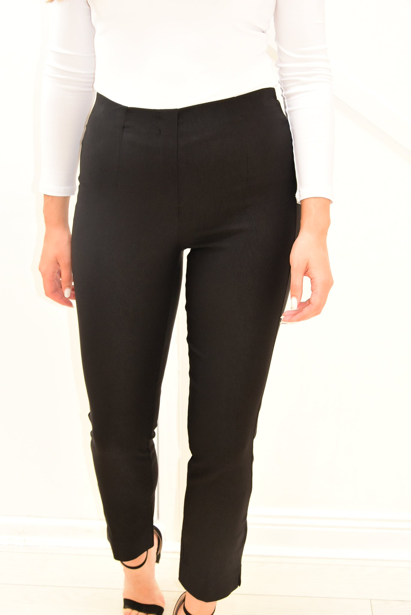 D.e.c.k Trousers With Elasticated Waist