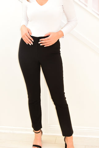 Robell  Jacklyn Black Trousers