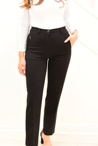 Robell 'Sahra' Black Trousers