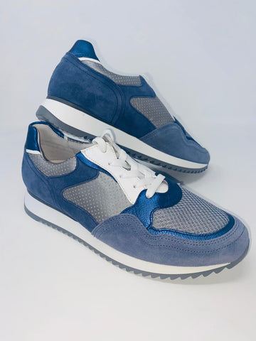 Denim Blue Runner