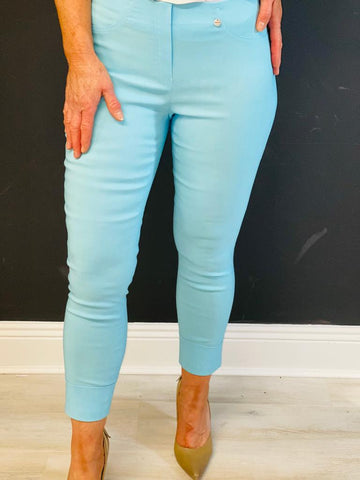 Sky Blue Bella 3/4 Trousers