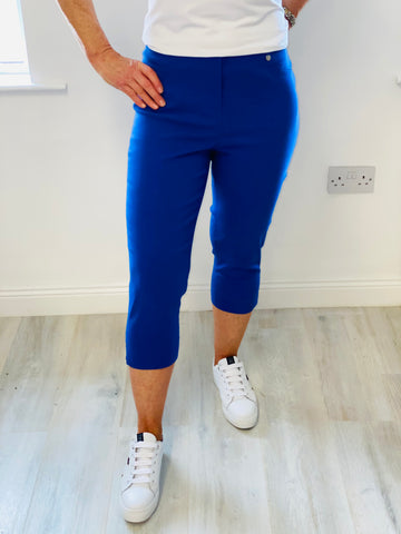 Royal Blue Rose Trouser