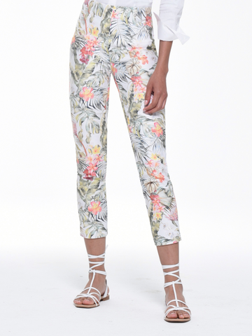 Floral Pattern 'Rose' Trouser