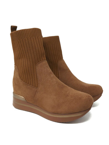 Sock Boot Caramel