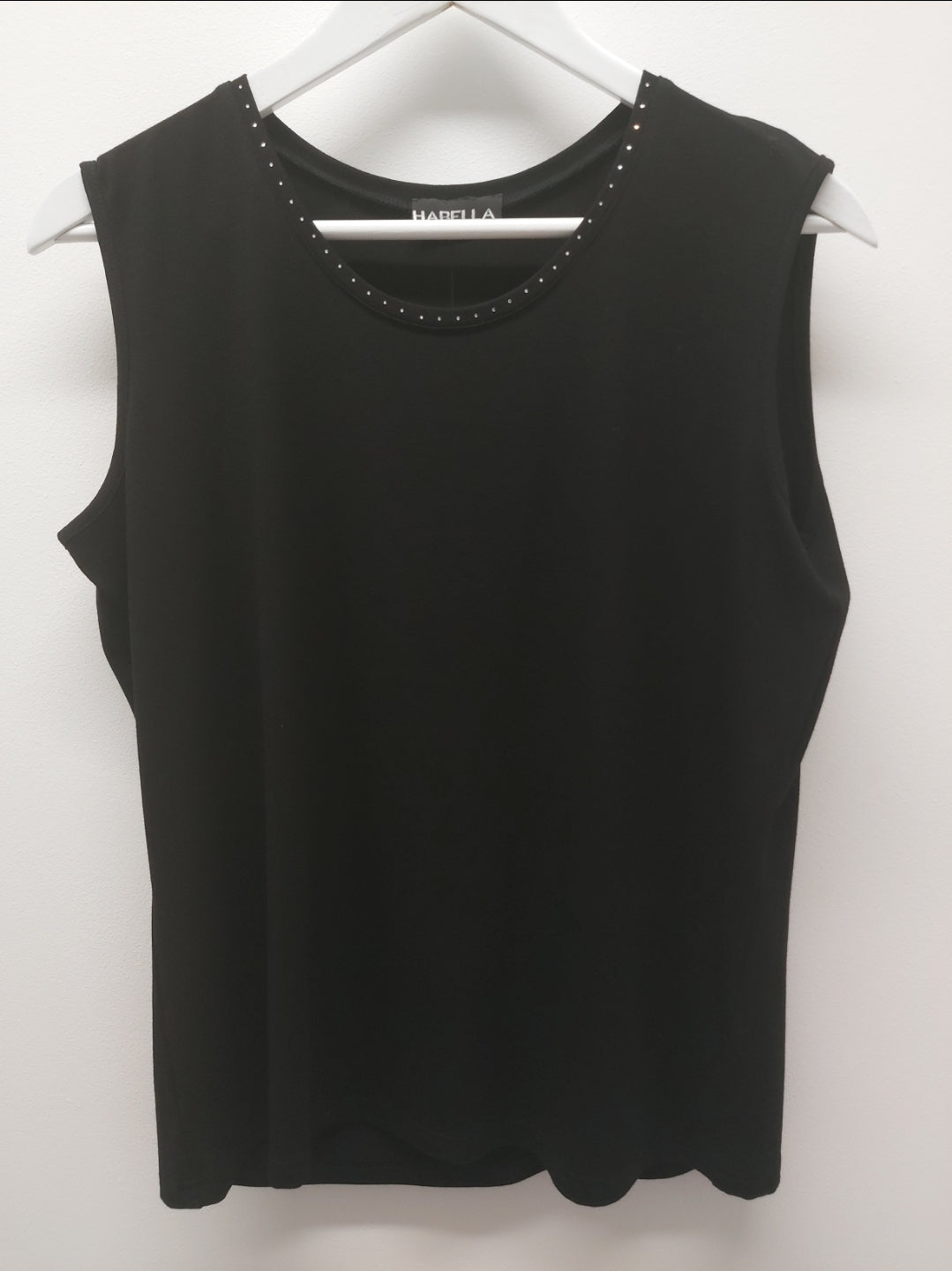 Loose Camisole With Diamante Detail