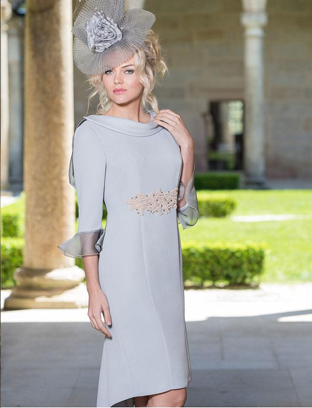 Dress With Diamond Detail