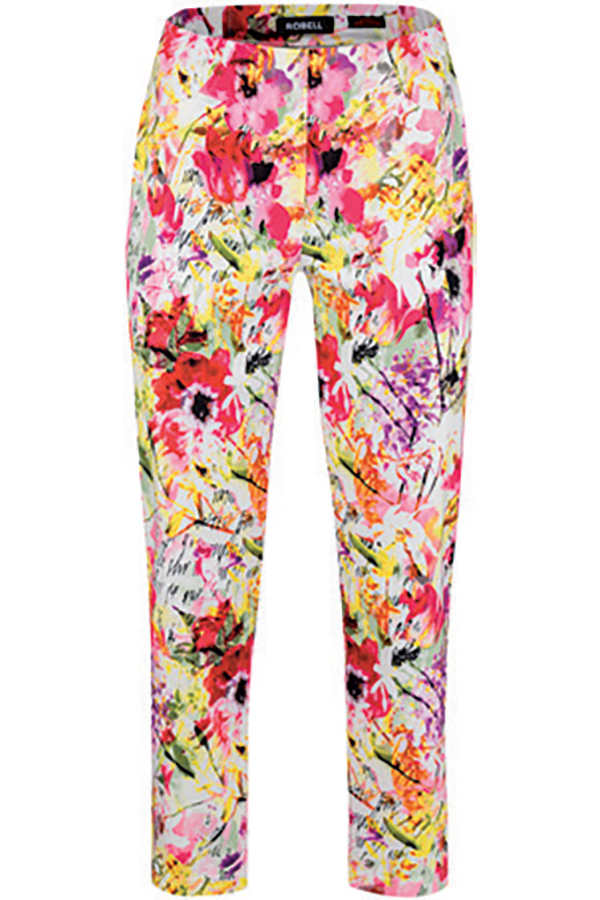 Floral Print Bella 09 Trousers