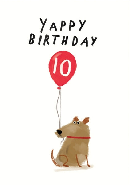 Yappy Birthday 10