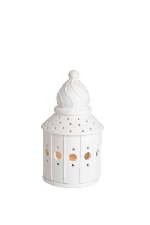 Round Porcelain Tea Light House