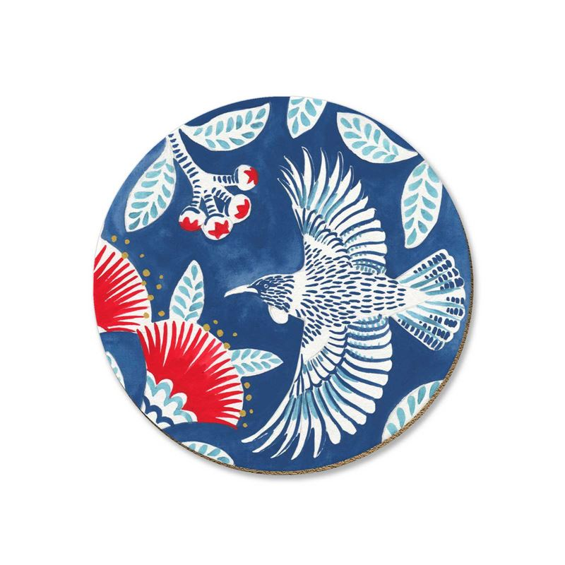 Tui On Blue Coaster