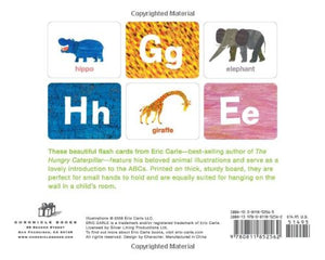 Eric Carle Animal Flashcards ABC