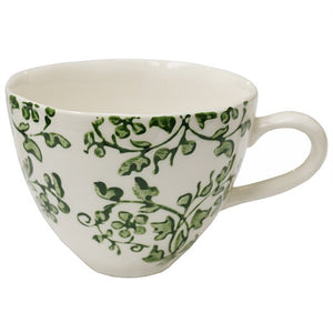 Florentine Verde Hand Painted Cup