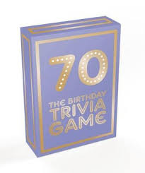 70: The Birthday Trivia Game