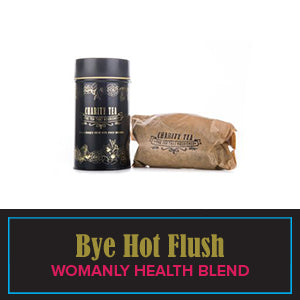 Bye Hot Flush (Organically Grown Herbal health blend)