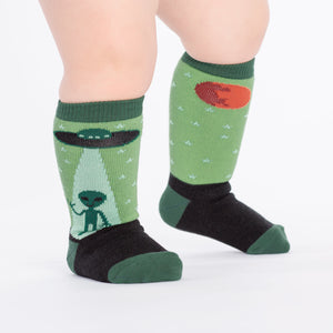 I Believe Toddler Knee High Socks