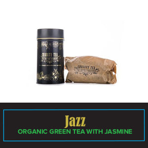 Jazz (Organic Green Tea With Jasmine}