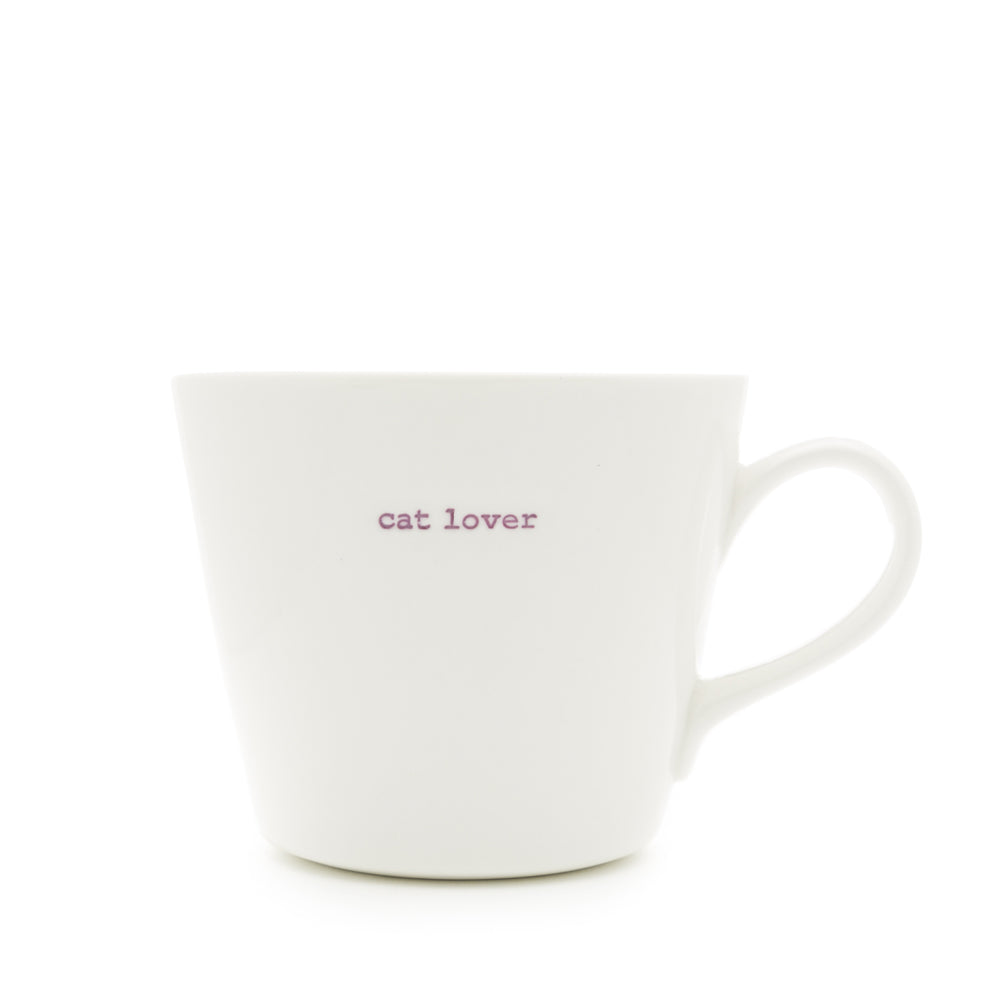 Cat Lover Bucket Mug