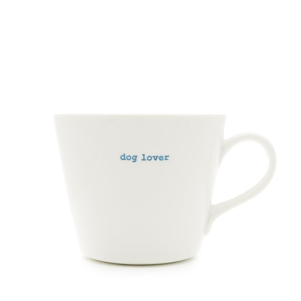 Dog Lover Bucket Mug