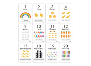 Let's Count: Cognitive Flash Cards