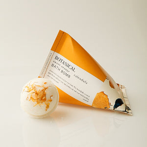 Orange Blossom & Calendula Bath Bomb
