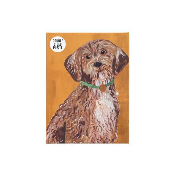 Dog Double-Sided Puzzle