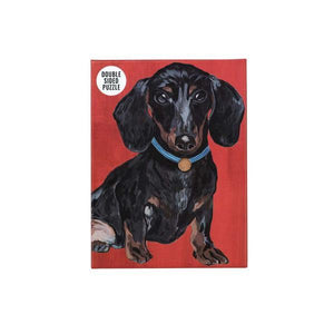 Dachshund Double-Sided Puzzle
