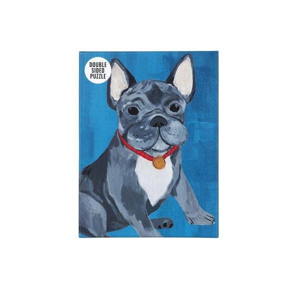 French Bull Dog Double-Sided Puzzle