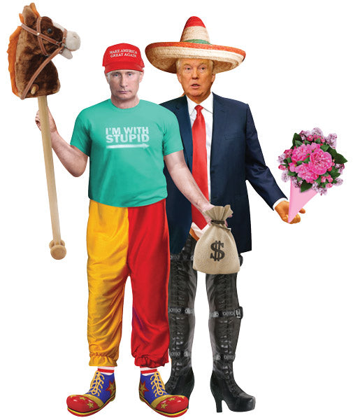 Bad Hombres - Trump & Putin Magnetic Dress Up Set